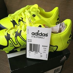 NWT Kids Adidas Performance Soccer Cleats